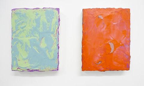 Sans titre, 2015, acrylique sur bois, 24