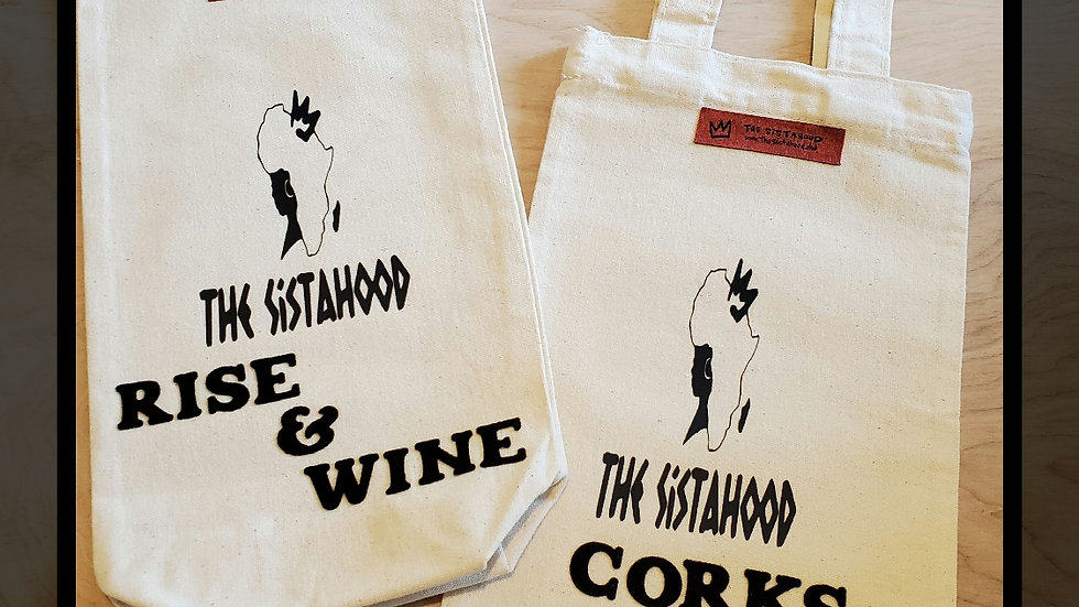 """""""Can I Come?"""" Wine Bag"""