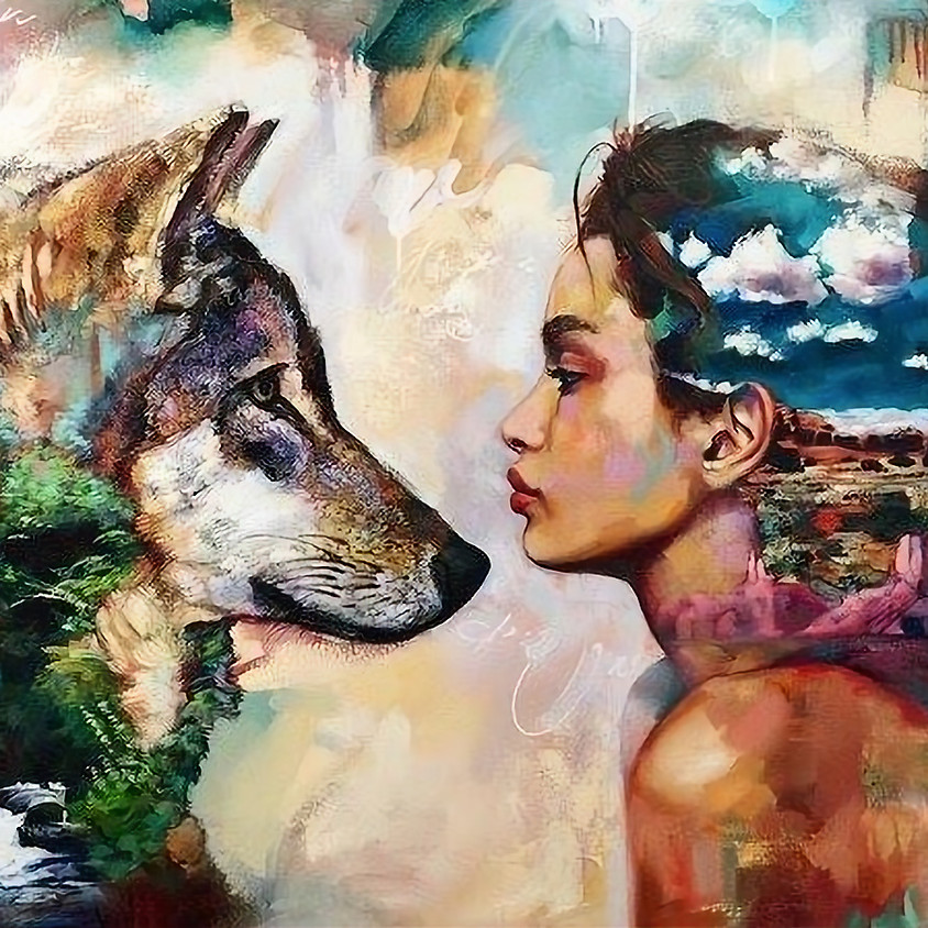Wild Moon - Woman and Wolves