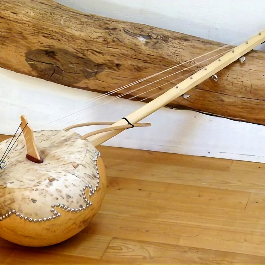 Mango Jam Sessions - 'West African Harp - Ngoni' w/- Albert Salvador