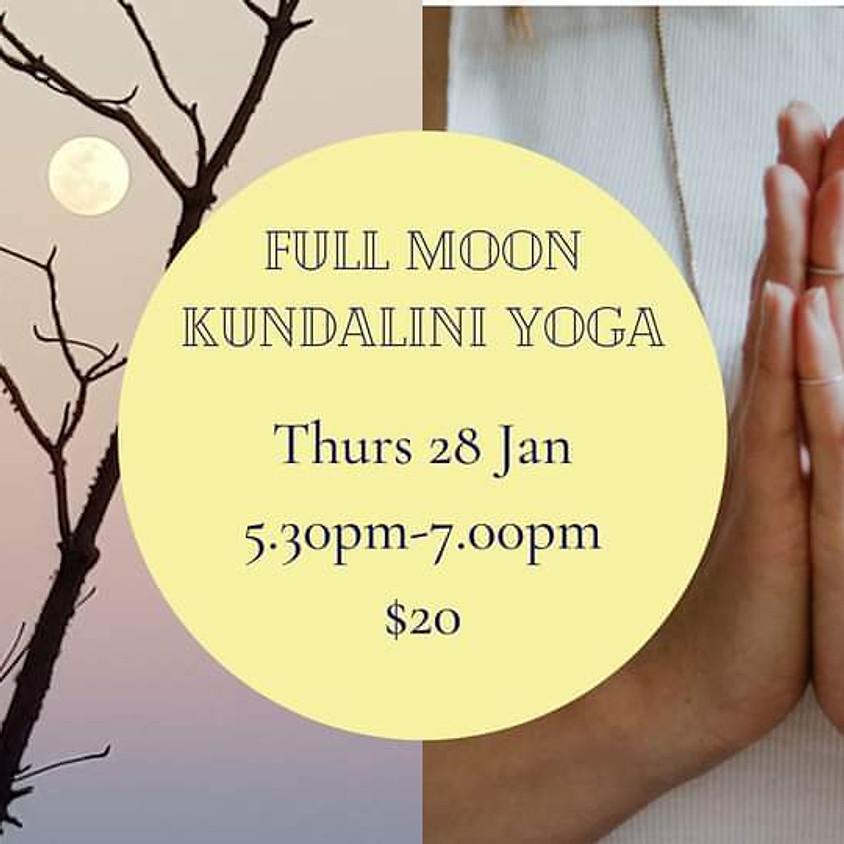 Full Moon Kundalini Yoga Journey
