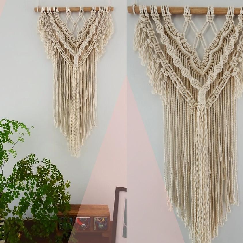 Macrame Intermediate Wall Hanging Workshop