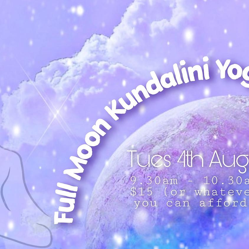 Full Moon Kundalini Yoga - w/- Kellie Kennett