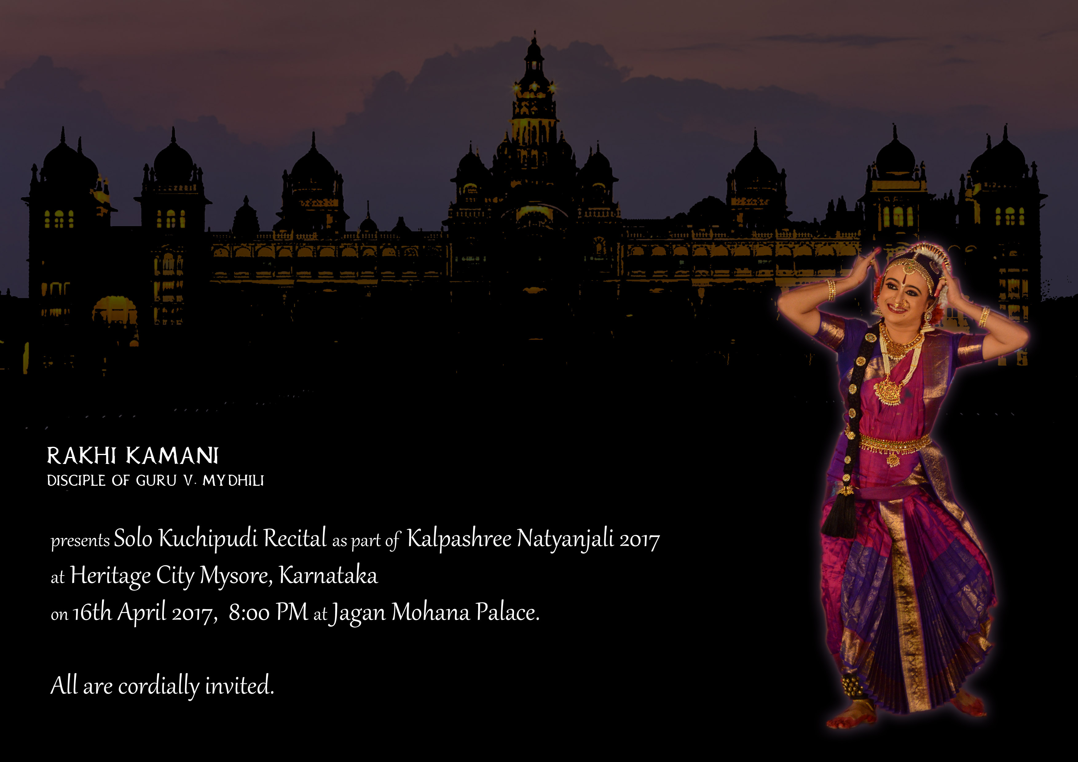 Mysore Kuchipudi Brochure