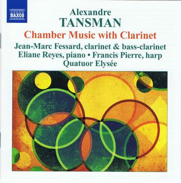 Discographie du Quatuor Elysée _ Tansman