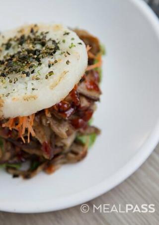 Shiitake Mushroom Riceburger