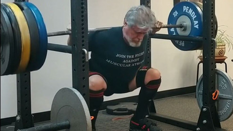 STOP THE BAR AT THE BOTTOM OF THE SQUAT
