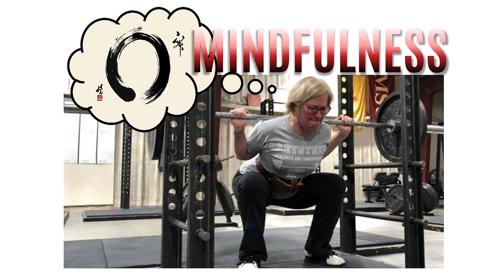 Mindfulness is a critical athletic attribute.