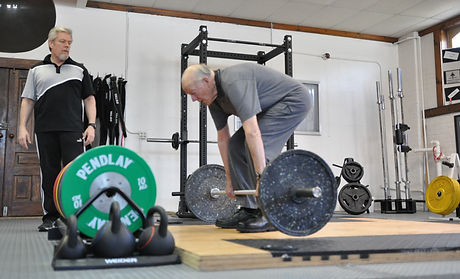 Deadlifting at 90