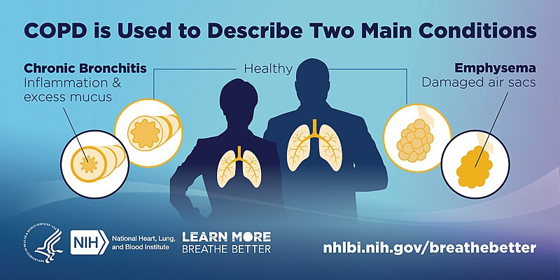 Two types of COPD.