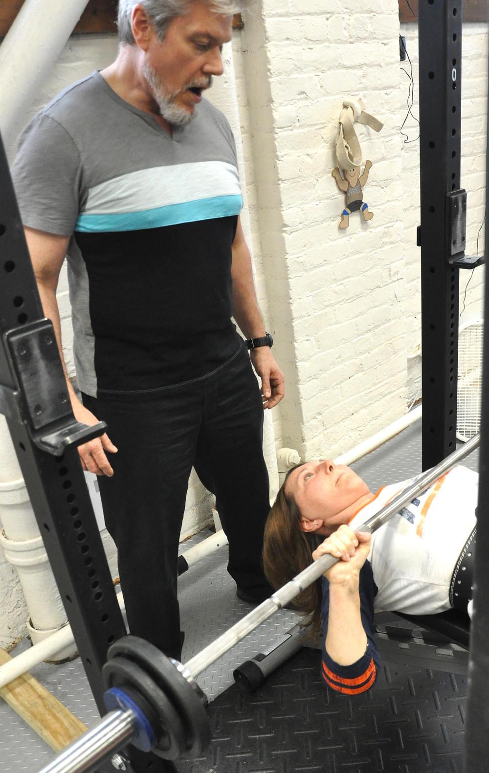 Dr. Sullivan Coaching the Bench