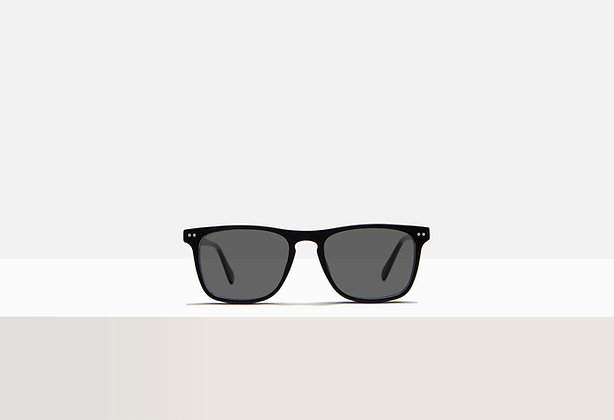 Sunglasses - Boyd in Acetate Black