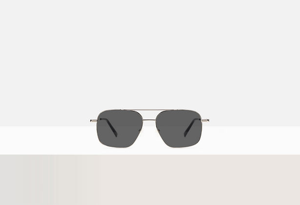 Sunglasses - Hayao in Silver Lining