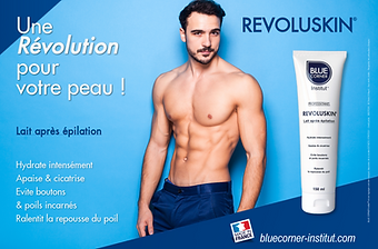 blue corner epilation homme paris