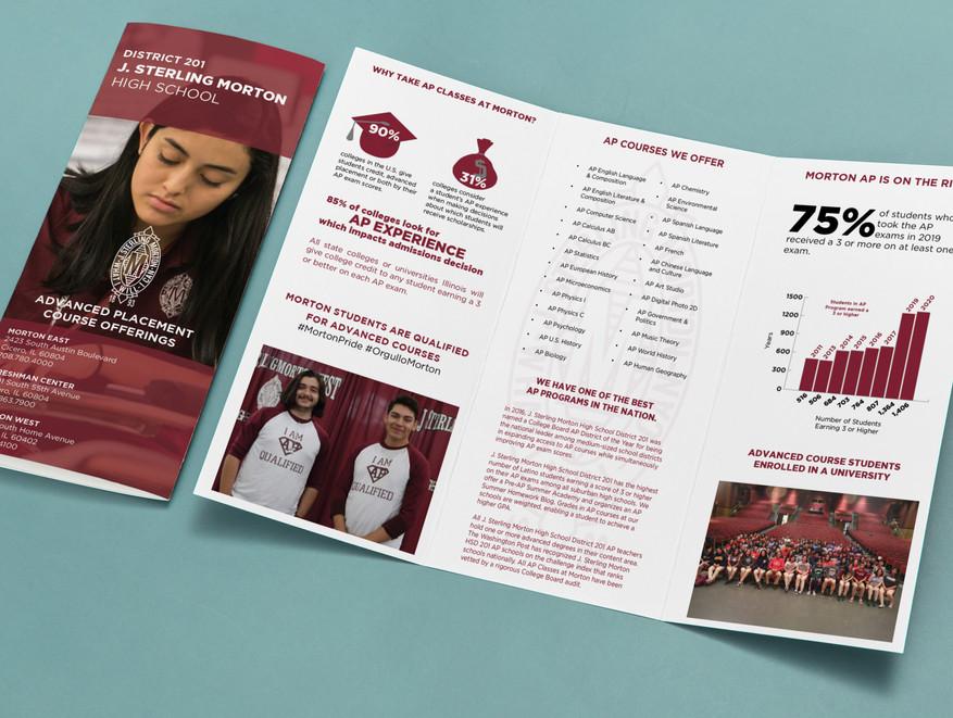 Morton District 201 Advanced Placement Promotional Brochure