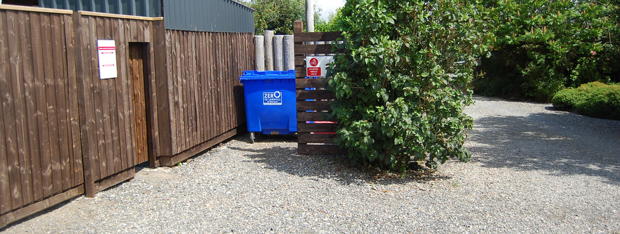 Waste disposal area