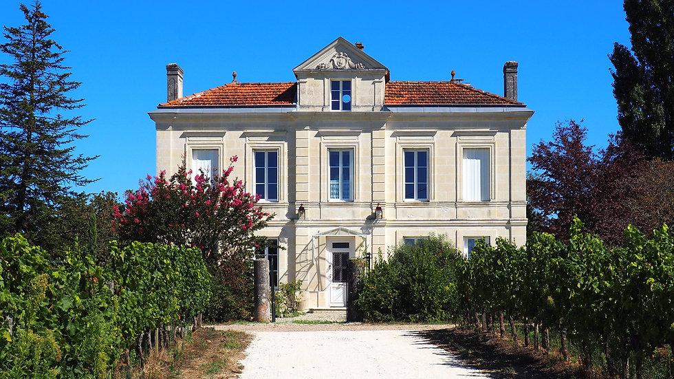 Vue façade Clos des Maurins