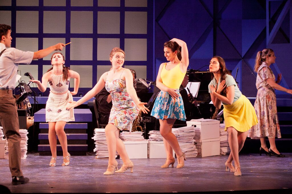 Dancer in Merrily We Roll Along