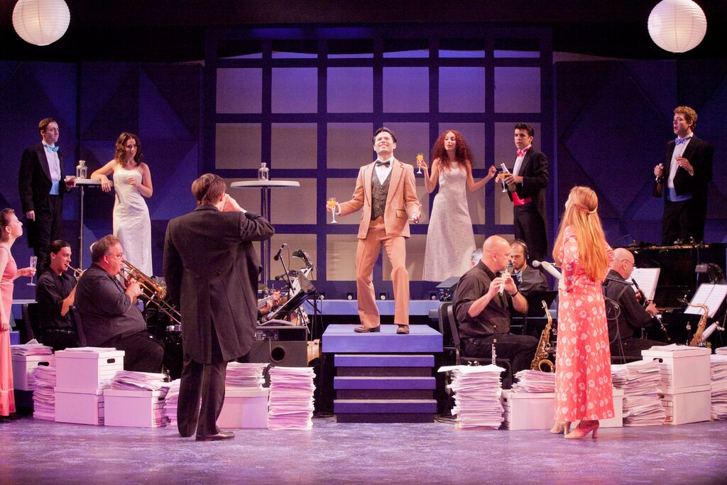 Meg in Merrily We Roll Along