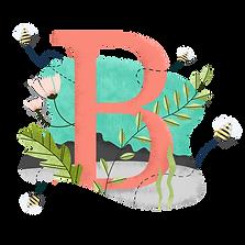 B для пчелы
