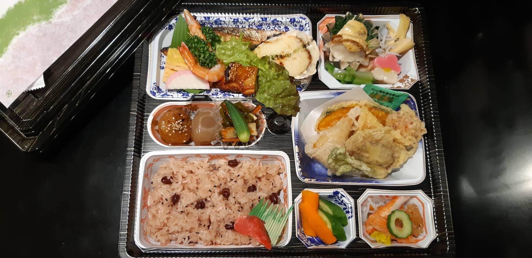 赤飯お弁当2000円