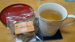 野ぶどう茶&かりんとう