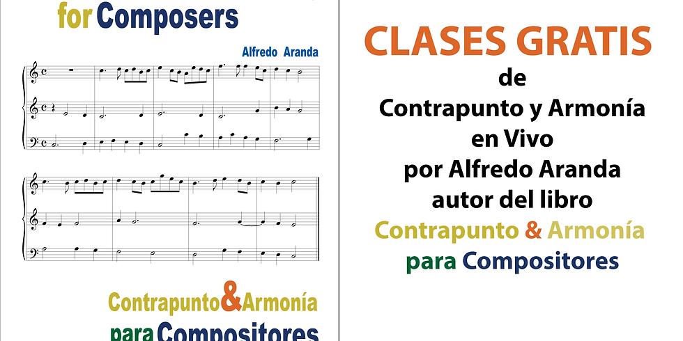 Clases GRATIS de Contrapunto y Armonía