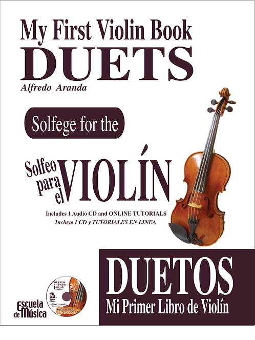 My First Violin Book DUETS