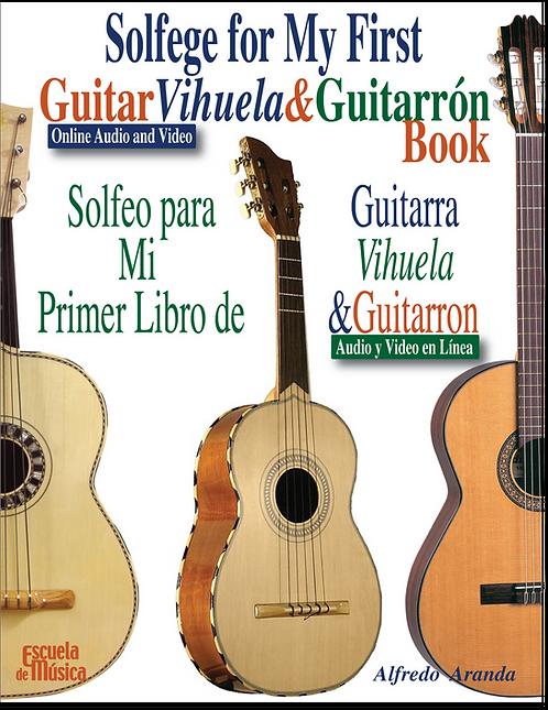 My First Guitar, Vihuela and Guitarrón Book