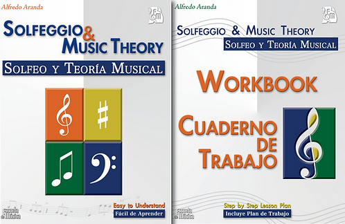 Solfeggio and Music Theory Book and Workbook