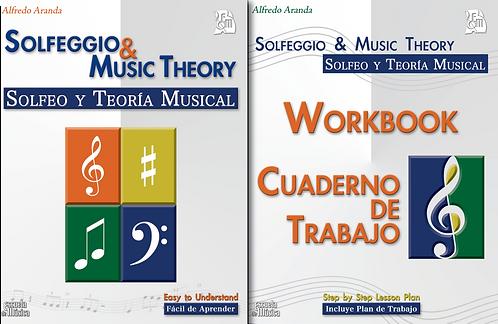 Cuaderno de Trabajo para el libro de Solfeo y Teoría Musical