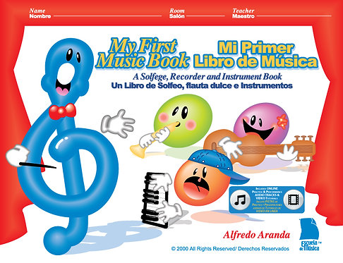 My First Music Book Digital