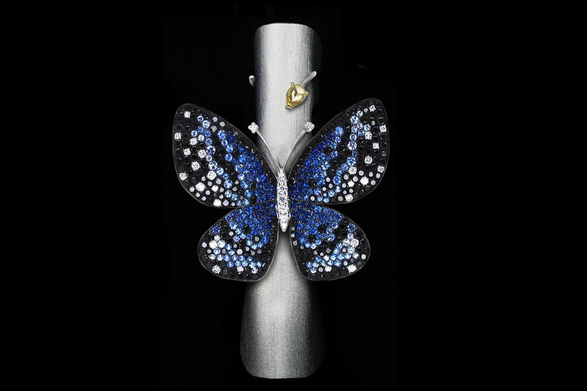 Large Sapphire Butterfly