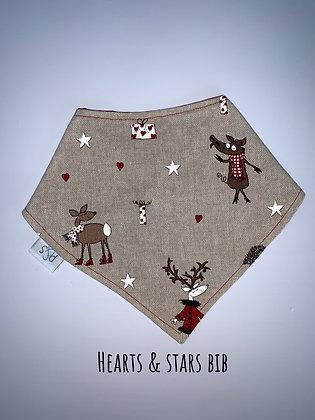 Fabric Christmas Bib