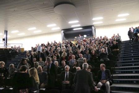 Un public nombreux et attentif