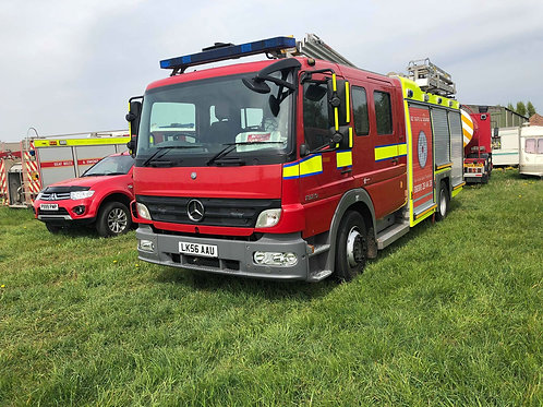 Mercedes Fire Appliance