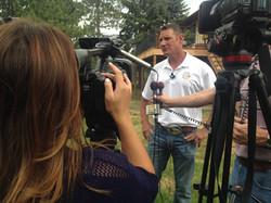 News Media Interview with HGTV Star