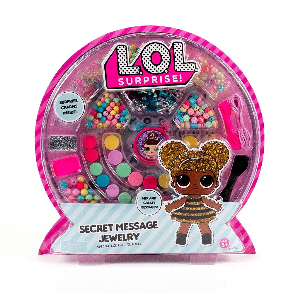 L.O.L. Surprise Secret Message Jewelry Kit