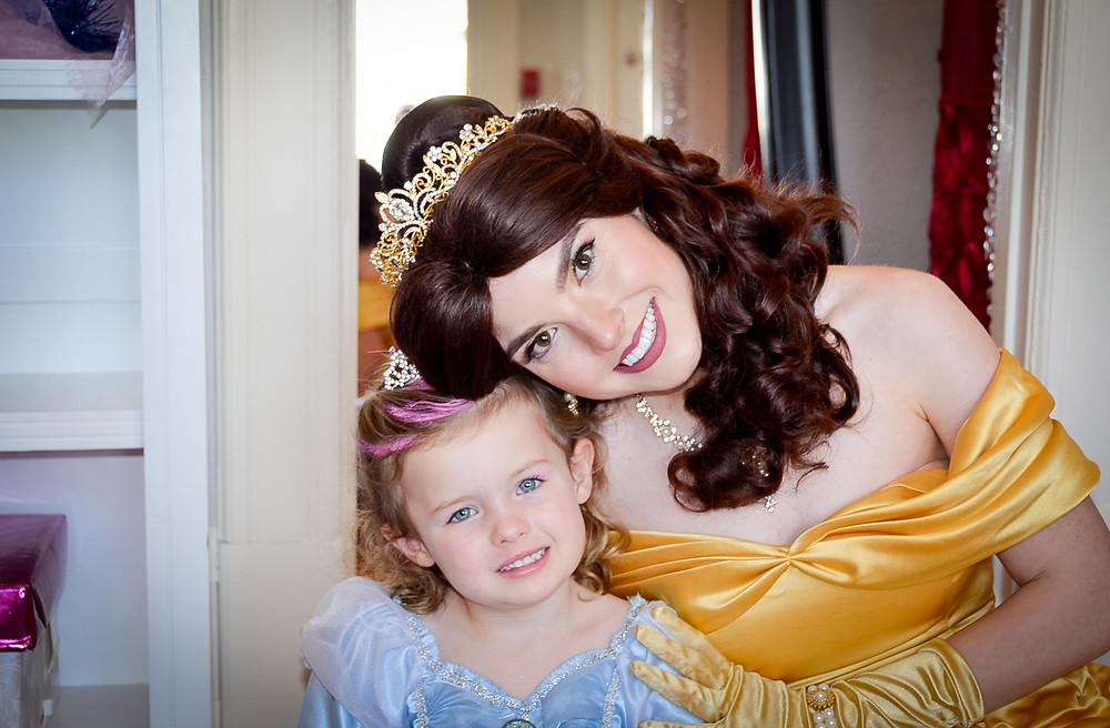 Beauty Princess and Friend