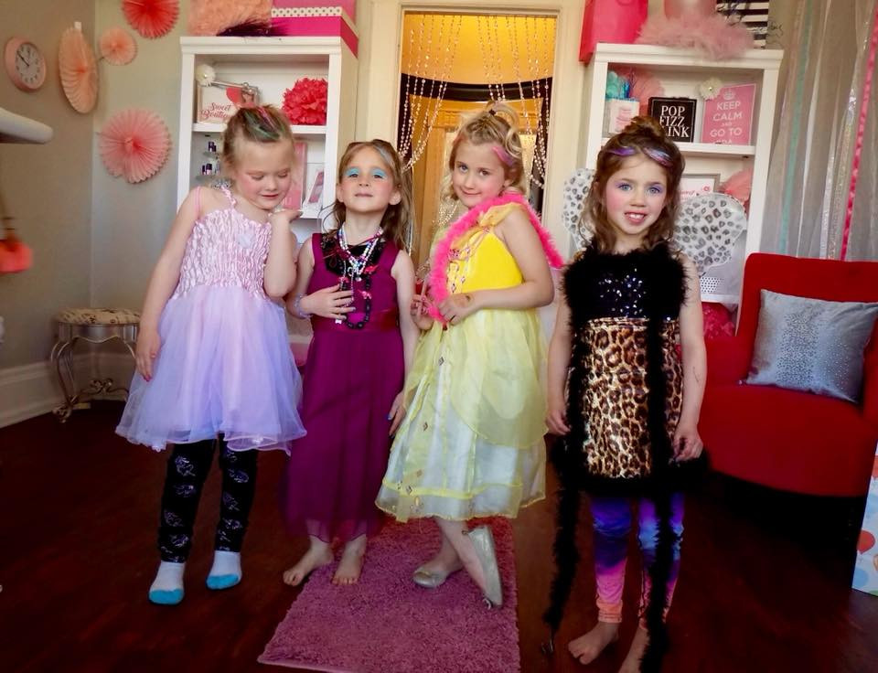 Diva girls show off their fashion sense on our children's runway.