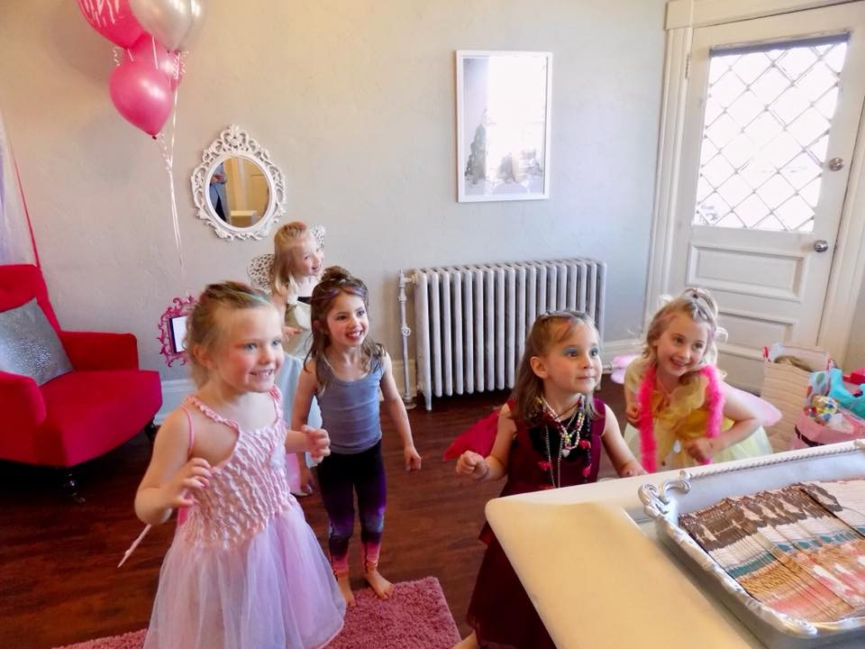 Dance party in our Sweet Boutique