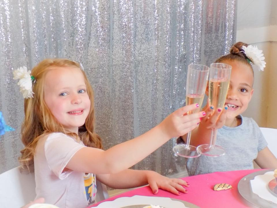 Birthday Celebrations in the Sparkle Café
