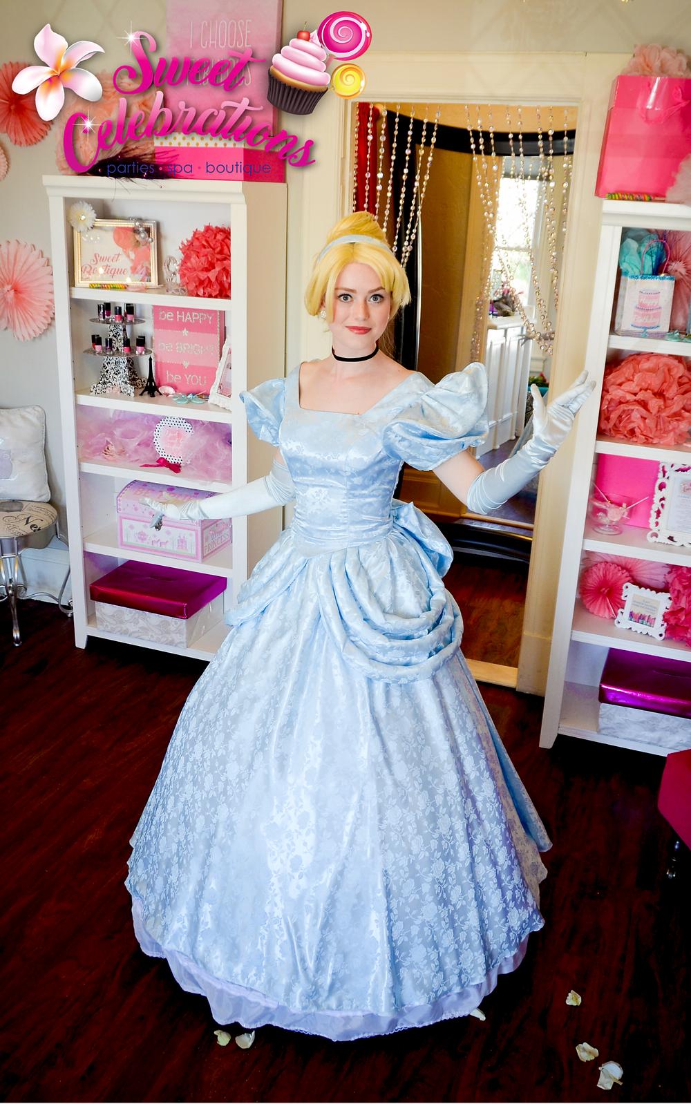 Cinderella princess appearance