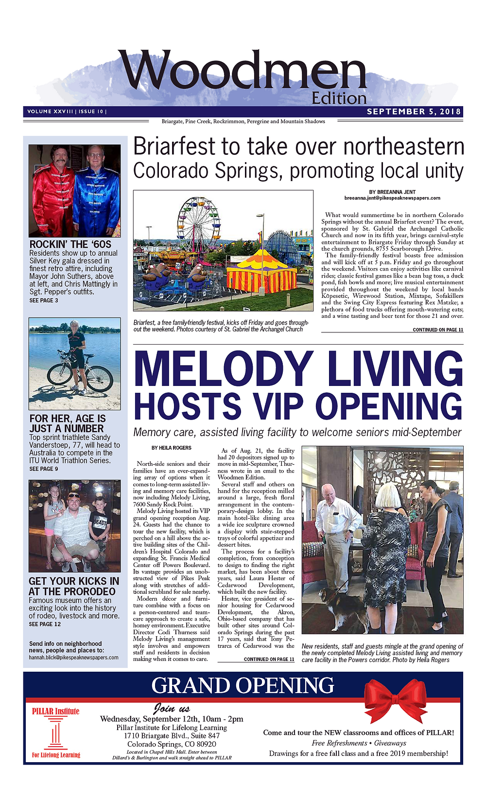 Local media coverage in Colorado Springs
