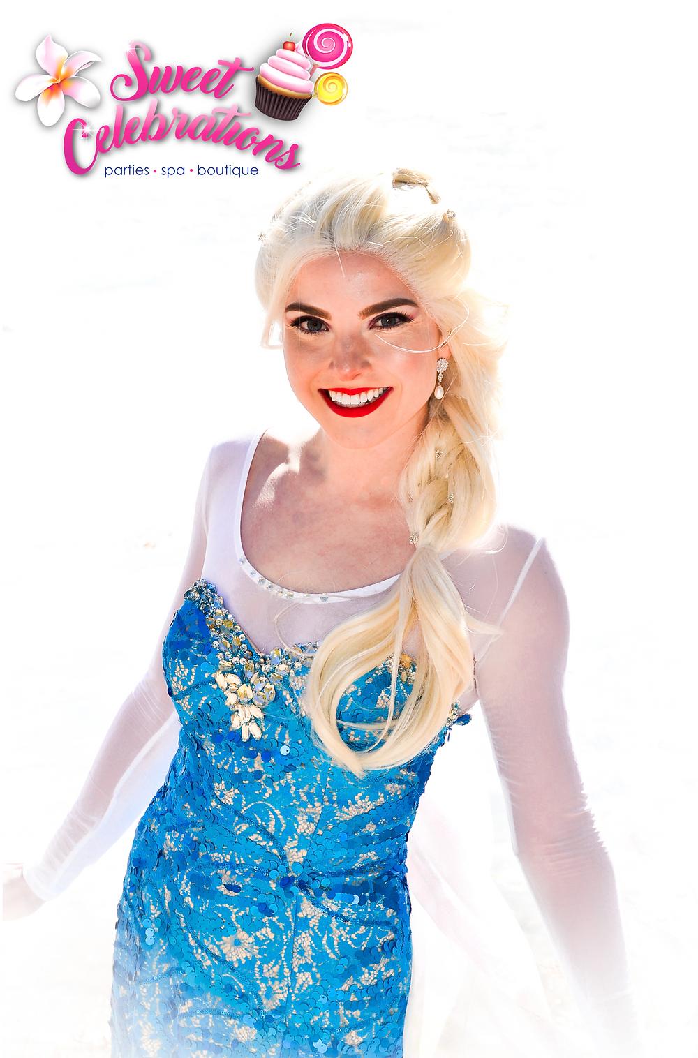 Snow Queen Princess Party