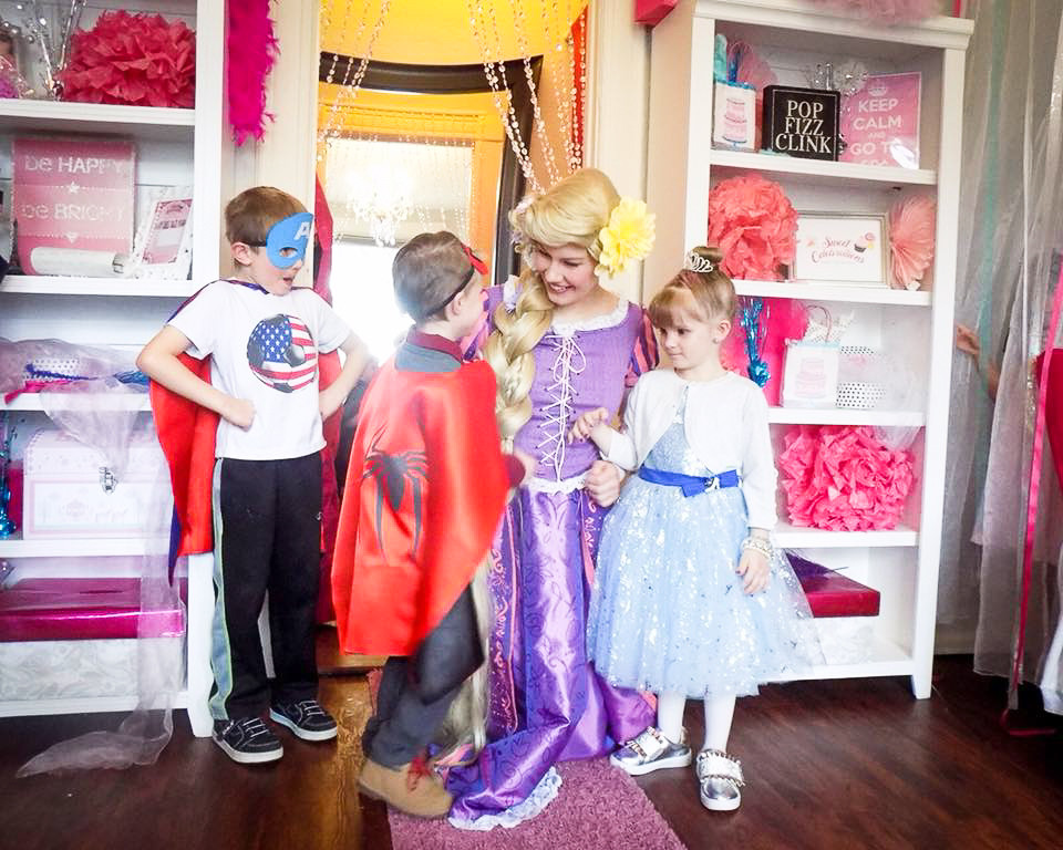 Boys and Girls Dress Up Birthday Party