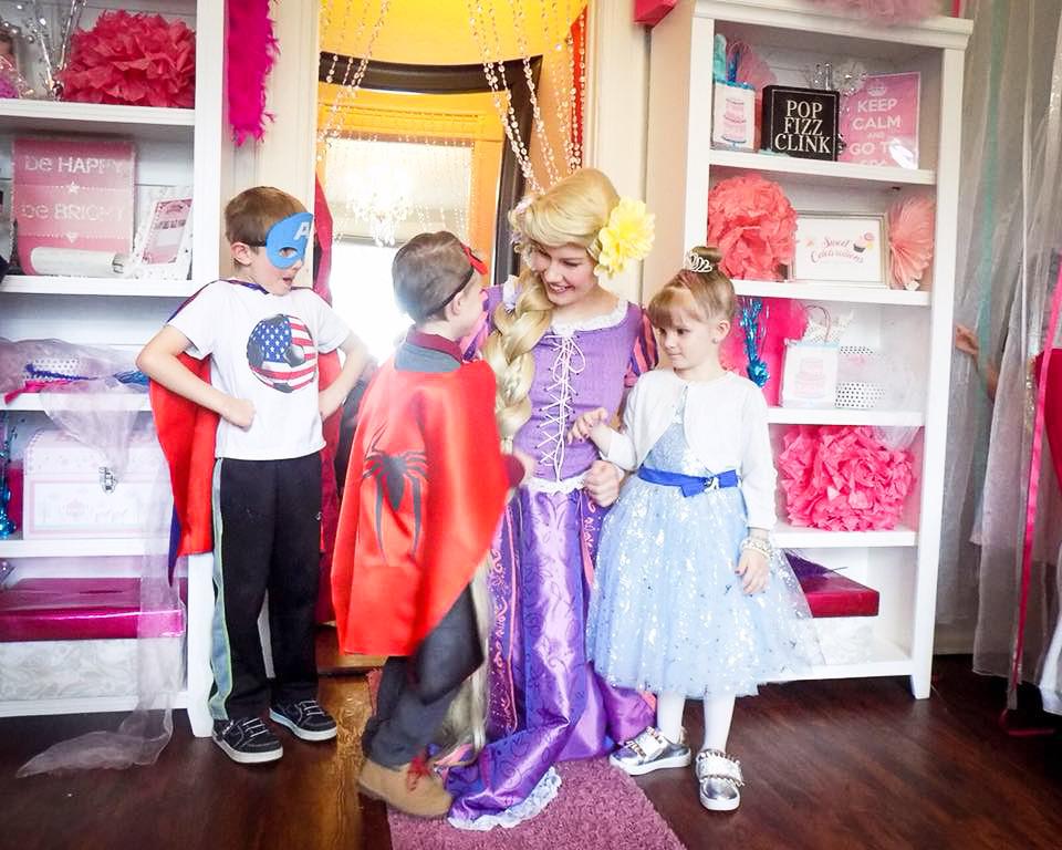 Dream princess party!