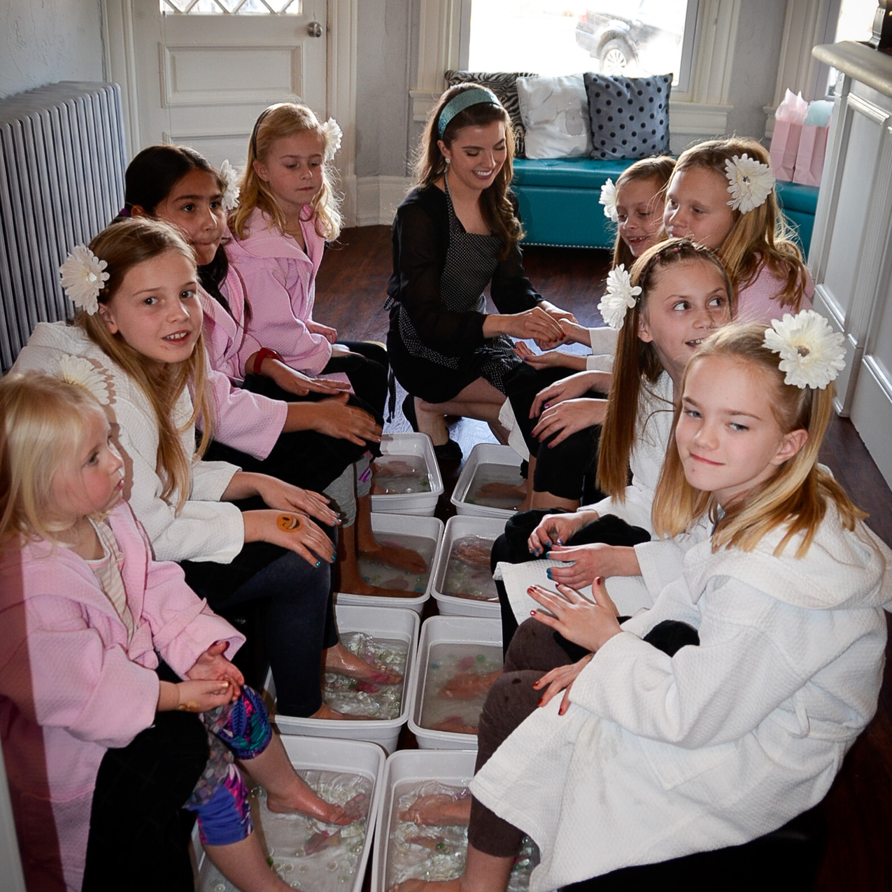 Spa Party at Sweet Celebrations