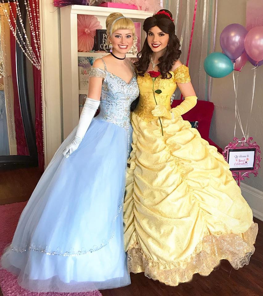 Princess friends are the best!