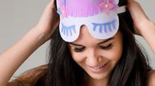 Slumber party unicorn eye masks